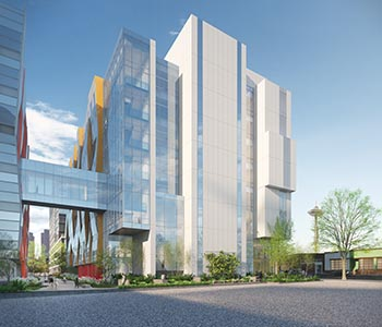 Rendering of UW School of Medicine Phase 3.2