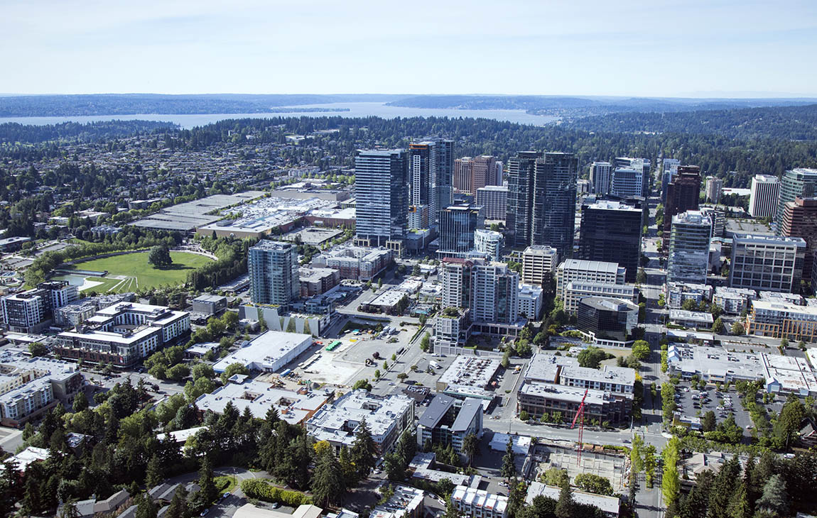 Aerial Image of Bellevue