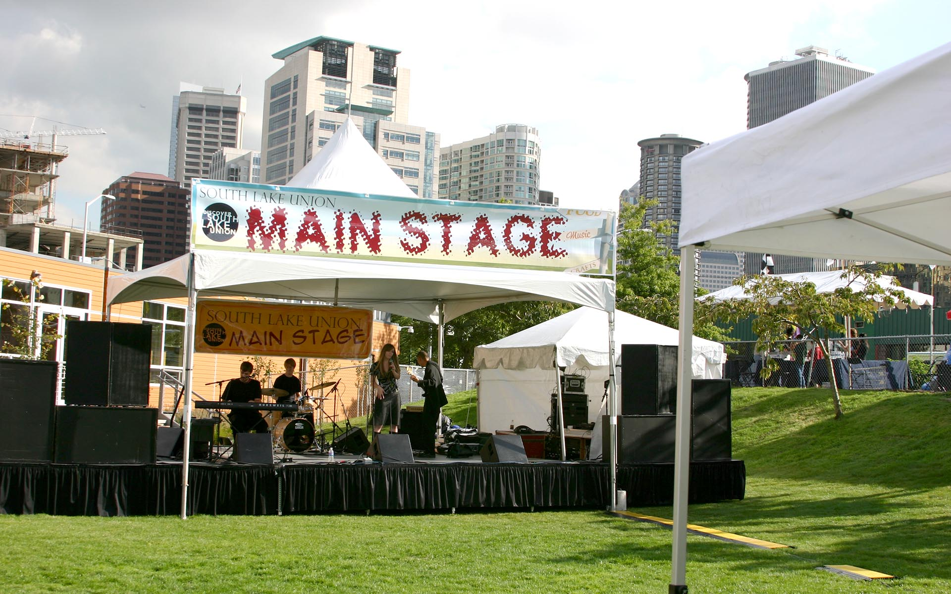 Image of 1st SLU Block Party Main Stage