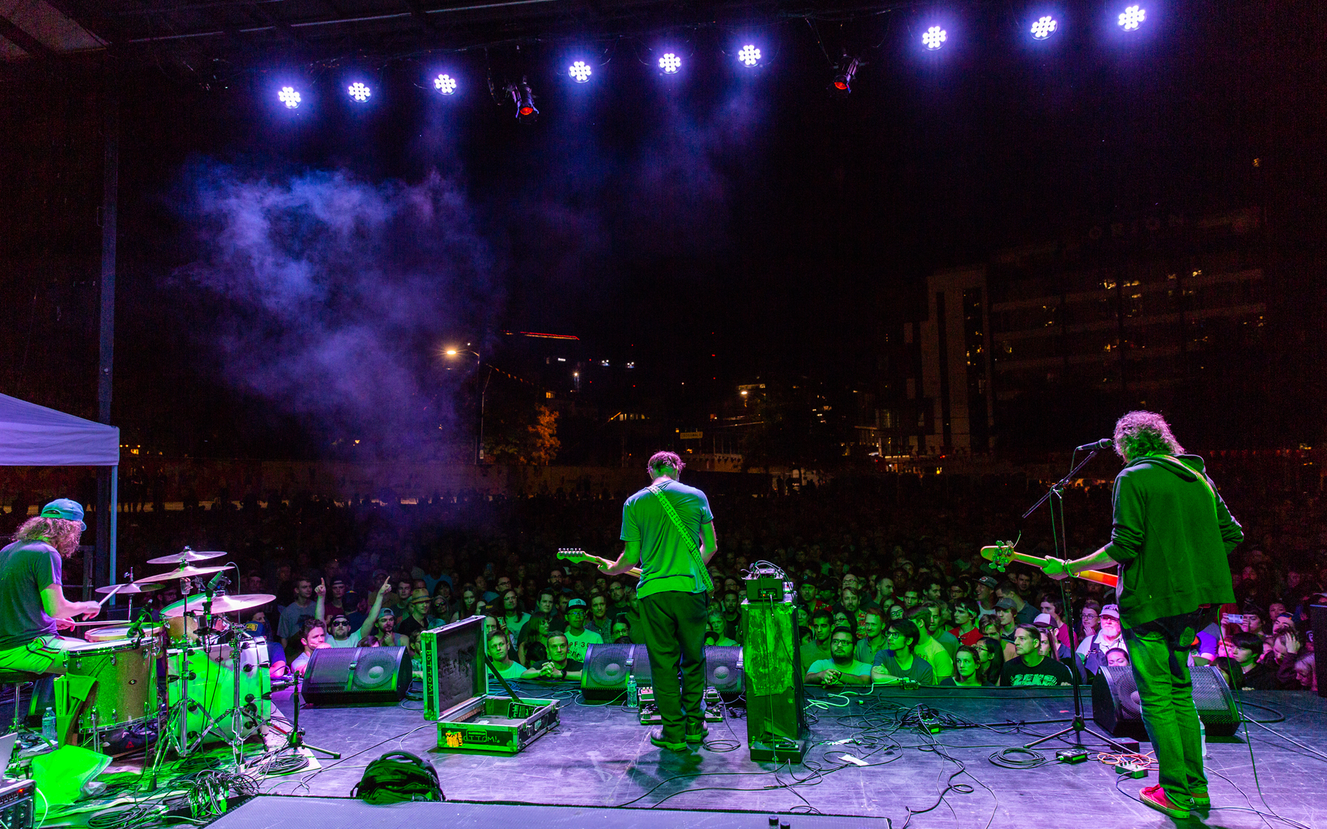 Image of Built to Spill Performing at SLU Block Party