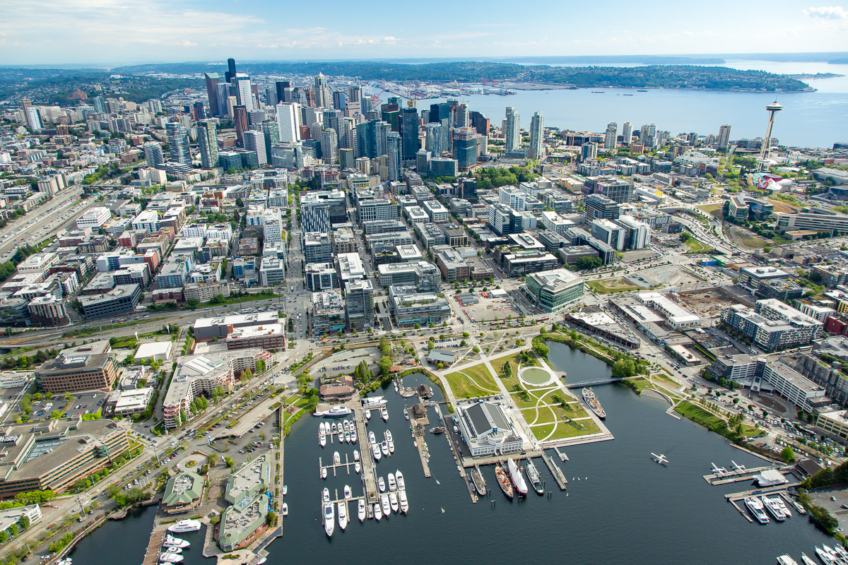 Aerial Image of South Lake Union